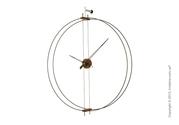 Дорогие эксклюзивные настенные часы Nomon Barcelona Wall Clock,  Walnut